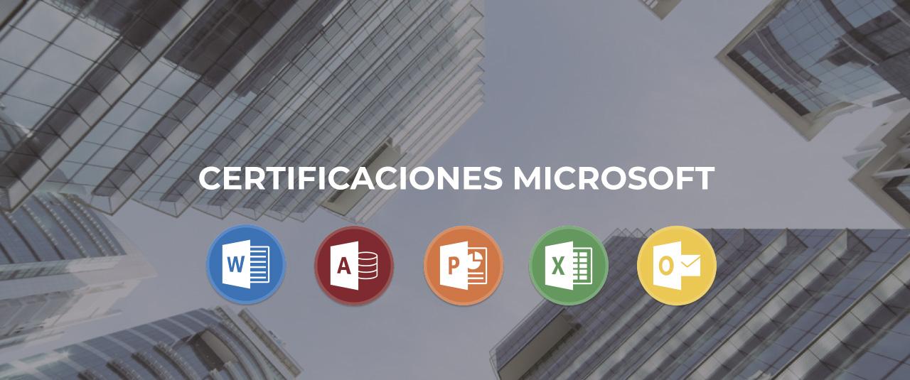 certificaciones microsoft office