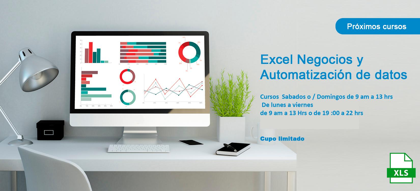 excel negoxios y automatizacion de datos